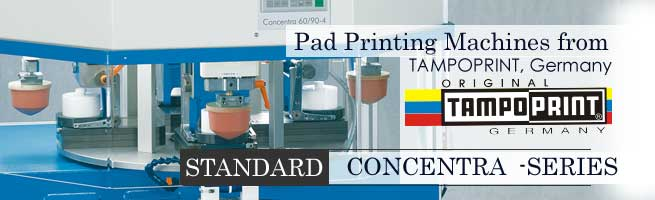 Concentra Pad Printing Machines