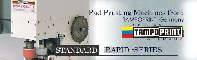 Standard Rapid series Pad Printing Machines
