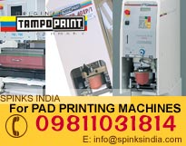 Pad Printing Machines- SIC 90