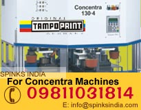 Concentra 90 4 color Pad Printing Machines