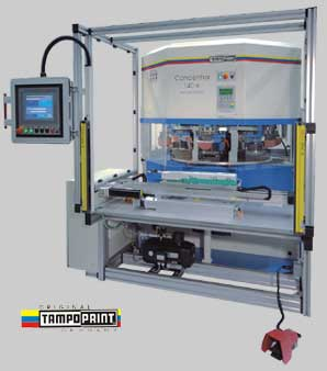 Concentra 140 6 color Pad Printing Machine
